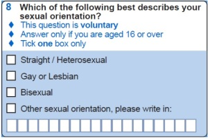 Sexual orientation census question